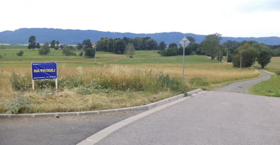 Křinice - zemědělský pozemek